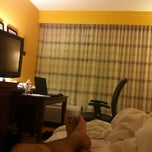 Photo taken at Courtyard by Marriott - Milford by João B. on 8/13/2012