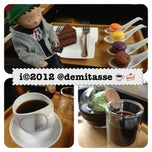 Photo taken at Cafe Demitasse by i 💕 on 12/16/2012