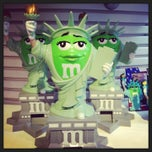 Photo taken at M&M's World by Liliya K. on 3/10/2013