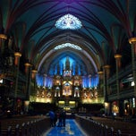 Photo taken at Basilique Notre-Dame by Renz N. on 3/2/2013