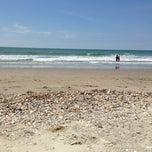 Photo taken at Holden Beach by Brandon on 5/27/2013