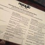 Photo taken at Republic Kitchen & Bar by Ryan S. on 1/27/2013