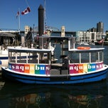 Photo taken at Aquabus Granville Island Dock by Bill on 7/2/2013