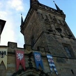 Photo taken at Staroměstská mostecká věž | Old Town Bridge Tower by Elias on 10/9/2012