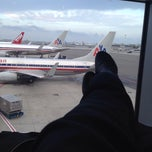 Photo taken at American Airlines Ticket Counter by Vanessa on 10/17/2013