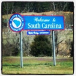Photo taken at Georgia / South Carolina State Line by Nick M. on 3/21/2013