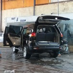 Photo taken at Carissa Car Wash by Agung P. on 5/8/2014