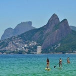 Photo taken at Praia de Ipanema by Marko K. on 7/27/2013