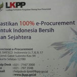 Photo taken at Dit. e-Procurement LKPP Gd.Smesco UKM Lt.17 by Nelly N. on 12/31/2013