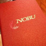 Photo taken at Nobu by Teresa C. on 5/31/2013