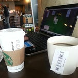 Photo taken at Starbucks by Ron W. on 3/10/2013