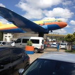 Photo taken at Posto do Avião by Israel S. on 3/7/2013