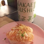 Photo taken at Sakae Sushi by Mandy G. on 11/23/2012