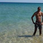 Photo taken at Plage de Restinga Smir by Mehdi M. on 9/6/2014