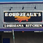 Photo taken at Boudreaux's Louisiana Kitchen by Jonathan R. on 2/20/2013