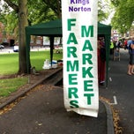 Photo taken at Kings Norton Farmers' Market by Ian V. on 8/10/2013
