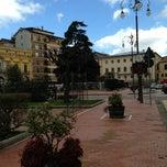 Photo taken at Piazza Libertà by Maxio75 on 3/9/2013