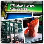 Photo taken at Perusahaan Otak-otak Kempas Sdn Bhd by Pyro M. on 12/30/2013
