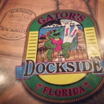 Photo taken at Gator's Dockside by S E. on 4/24/2013