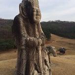 Photo taken at 동구릉 by Elena R. on 11/23/2014