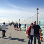 Photo taken at Manhattan Beach Pier by Cari on 1/5/2013