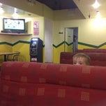 Photo taken at Burrito Express by Justine B. on 10/29/2013