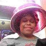 Photo taken at Blessings Beauty Salon by Dominique F. on 2/23/2013