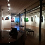 Photo taken at Clover Cafe And Art Gallery by Gary C. on 2/8/2013