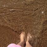Photo taken at Playa Higuerillas by Kakito G. on 4/3/2014