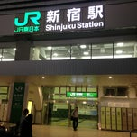 Photo taken at 新宿駅 (Shinjuku Sta.) by ifarukh s. on 7/23/2013