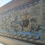 Photo taken at Pharaonic Village by Dona-Maria on 6/15/2013