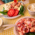 Photo taken at Geno's Chowder and Sandwich Shop by Julie F. on 8/1/2014