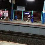 Photo taken at Stasiun Pondok Cina by rica y. on 2/16/2013