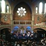 Photo taken at Union Chapel by Tigran on 6/6/2013