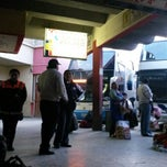 Photo taken at Terminal de Buses Oruro by Ruben M. on 2/14/2014