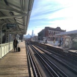 Photo taken at CTA - Damen by Keilon L. on 11/25/2012