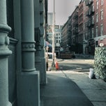 Photo taken at Crosby Street & Grand Street by Keilon L. on 11/5/2013