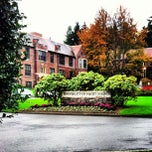 Photo taken at University of Puget Sound by Lauren on 10/31/2012