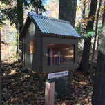 Photo taken at Balsam Circle Little Free Library, Spider Lake by Steven H. on 10/26/2014
