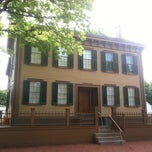 Photo taken at Lincoln Home National Historic Site by Colin T. on 6/17/2013