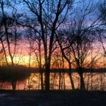 Photo taken at Ford Lake by Laura D. on 12/4/2012