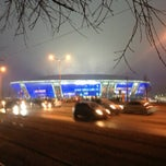 Photo taken at Donbass Arena / Донбасс Арена by Max on 2/13/2013