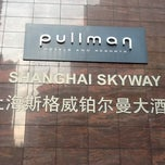 Photo taken at Pullman Shanghai Skyway Hotel by Alberi P. on 7/23/2013