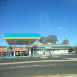 Photo taken at Valero by Brian T. on 8/12/2013