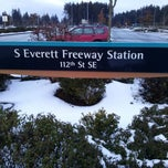 Photo taken at S. Everett Park & Ride by Kaelisa V. on 2/10/2014