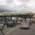Photo taken at Gerbang Tol Pasteur by Ana N. on 1/5/2013
