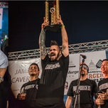 Photo taken at Sacramento Burger Battle 2014 by Sacramento Burger Battle 2014 on 8/27/2014
