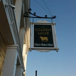Photo taken at The Golden Lamb Inn by Timothy B. on 11/10/2012