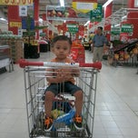 Photo taken at Carrefour by Didik R. on 2/15/2015