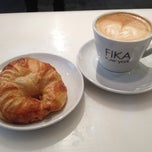 Photo taken at FIKA Espresso Bar by Elaine on 12/7/2012